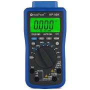 HOLDPEAK 90K Digitális multiméter fesz. áram ellenállás kapacitás frekvencia RPM hőm. USB port.
