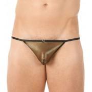 Gregg Homme MERCURY Pouch G String Underwear Gold 132614