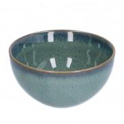 Dille&Kamille Bol, email réactif, grès, vert, Ø 13,5 cm