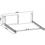 Inbouwkit Rigol RM-1-DP800 Voor inbouw in 19-inch rack RM-1-DP800