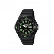Reloj Casio Mrw-200h 3b Para Hombre- Negro Y Verde