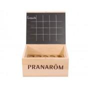 PRANAROM Mini Aromathèque - Coffret en Bois 20 Flacons