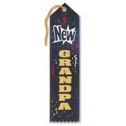 New Grandpa Award Ribbon 2 X 8 Party Accessory