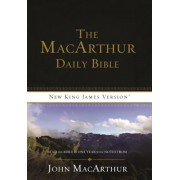 MacArthur Daily Bible-NKJV: Read Through the Bible in One Year, with Notes from John MacArthur, Paperback/Thomas Nelson