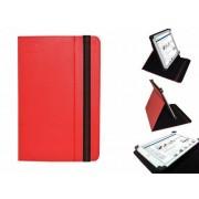 Uniek Hoesje voor de Hip Street Titan 7 Inch - Multi-stand Cover, Rood, merk i12Cover
