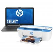 "Laptop HP 14"" A9-9425 8GB RAM 1TB 15-db0011lm Win 10 con Multifuncional-negro"