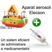 Aparat aerosoli Bricks (EL005) + Medibottle pentru bebelusi