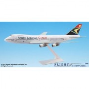 Flight Miniatures South African Airways SAA Cargo Boeing 747-100/200 1:250 Scale