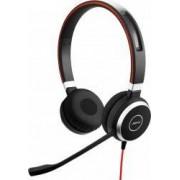 Casti cu microfon Jabra Evolve 40 MS Stereo USB 6399-823-109 Black