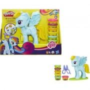 Hasbro PlayDoh Salon fryzjerski Rainbow + EKSPRESOWA DOSTAWA W 24H