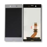 Ecran Tactile + Lcd Gris Argenté De Remplacement Pour Sony Xperia Xz (F8331 / F8332)