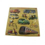Vehicle Puzzle Wooden Puzzle – Transport