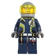 Agent Charge (Helmet) - LEGO Agents Minifigure