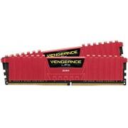 Memorija Corsair Vengeance LPX 16GB (2x8GB) 288-Pin DDR4 3200 (PC4 25600) memorijski moduli crveni, CMK16GX4M2B3200C16R