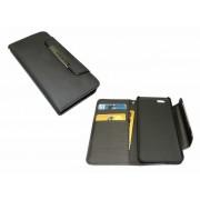 Telefontok, iPhone 6 készülékhez, kinyitható, tárca, SANDBERG, fekete (SATOK534)