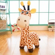 "Cute Animals Toys Giraffe Doll-Judy Dre am Soft Cartoon Animals Brown Giraffes Toy Stuffed Cotton Plush Children's Dolls Birthday Gift for Kid/Girlfriend 20"" Tall"