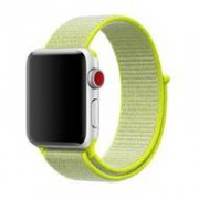 Apple Sport loop Apple watch bandje 42mm / 44mm - Neon groen