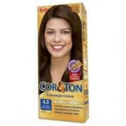 Tintura Cor & Ton - Cor 4.3 Castanho Médio Dourado