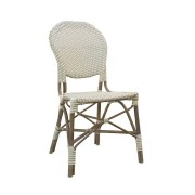 Solhem Isabell exterior side chair taupe, sika design