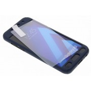 Donkerblauwe 360° effen protect case voor de Samsung Galaxy A3 (2017)