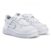 NIKE Air Force 1 Infants Sneakers Vit Barnskor 21 (UK 4.5)
