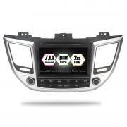 "Navigatie GPS Auto Audio Video cu DVD si Touchscreen 8 "" Inch, Android 7.1, Wi-Fi, 2GB DDR3 Hyundai IX35 2014-2018 + Cadou Soft si Harti GPS 16Gb Memorie Interna"