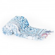 Плажна постелка от италианската марка David Beachwear Gujarat 180x100cм