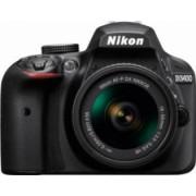 Aparat foto DSLR Nikon D3400 24 2MP Black + Obiectiv AF-P 18-55mm VR