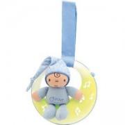 Музикална светеща играчка - Луна, синя, Chicco, 076260