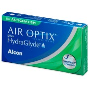 Air Optix plus HydraGlyde for Astigmatism (3 лещи)