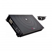 Amplificador Db Drive A3 1450.3 1400 Watts 1 Canal Clase D / AB Monoblock Para Subwoofers-Negro