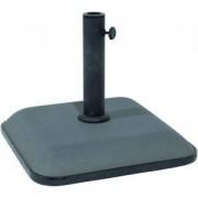 Express Parasolvoet beton vierkant 25 kg grijs