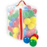 Шарени детски топки в чувал - 100 броя - 5858, 5900747008589