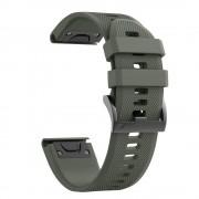 TECH-PROTECT Řemínek pro Garmin Fenix 3 / 5X / 3HR / 5X PLUS / 6X / 6X PRO - Tech-Protect, Smooth Green