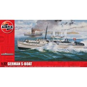 German S-Boat hajó makett Airfix A10280