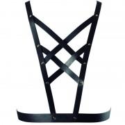 Bijoux indiscrets maze arnes cruzado con escote - negro