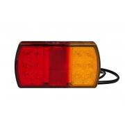 Fabrilcar by Aspöck fanale posteriore LED 4 funzioni – universale : destro e sinistro.
