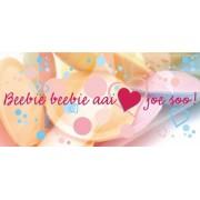 Wenskaart 'Beebie Beebie aai 'Love' joe soo!'