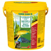 Sera Cichlid Green XL comida para peixes - 10 l