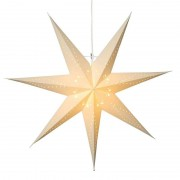 Seven-pointed, white paper star Katabo
