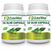 Slim Capsule 500 mg (60 Pure Veg Capsules) For Weight Loss-Pack of 2