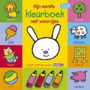 Deltas Kleurboek Woordjes Junior 16 Cm Papier Geel