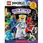 Lego Ninjago: Hack Attack! Sticker Activity Book, Paperback