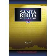 NVI Santa Biblia Letra Gigante Con Indice = Giant Print Bible-Nu (Spanish), Hardcover
