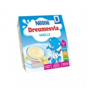 Nestlé Baby Dreumesvla® Vanille 4 x 100 g