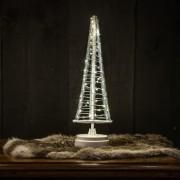 United Christmas United LED Mini-Weihnachtsbaum 60 LEDs 33,5cm - Indoor Weiß