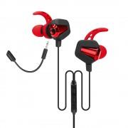 HEADPHONES, Marvo GP-002, Gaming, Dual Microphone, Black