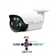 Hyundai Telecamera Bullet CCTV Motozoom 5-50mm Ibrida 4IN1 HYUNDAI 2.4Mpx HD@1080p OSD Waterproof IP66