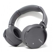 Sony Extra Bass Wireless Headphones Bluetooth Noise Canceling MDR XB950N1 Gray