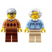 LEGO Town City Fun in the Park Minifigure - Grandma and Grandpa (60134)